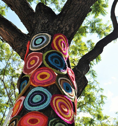 painted tree